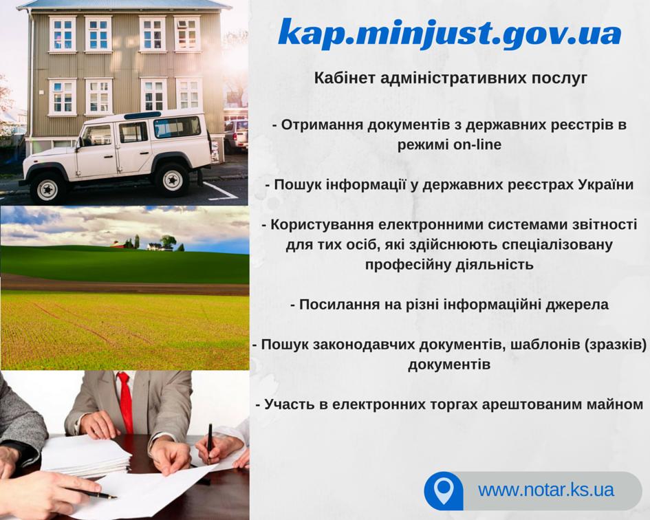 кабінет адміністративних послуг